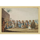 An Egyptian Ball, At Ned Sili (Watercolour)