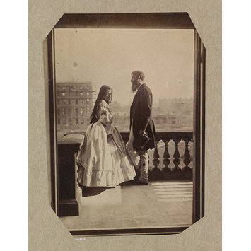 Photograph - Isabella Grace and H. B. Loch, 5 Princes Gardens; Photographic Study