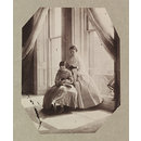 Clementina and Isabella Grace Maude, 5 Princes Gardens; Photographic Study (Photograph)