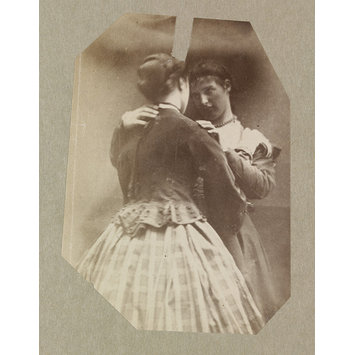 Photograph - Isabella Grace and Clementina Maude, 5 Princes Gardens; Photographic Study