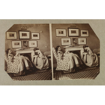 Photograph - Isabella Grace Maude and Clementina Maude, 5 Princes Gardens; Photographic Study