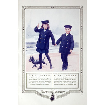 Pamphlet - The Royal Navy of England &amp; the Story of the Sailor Suit