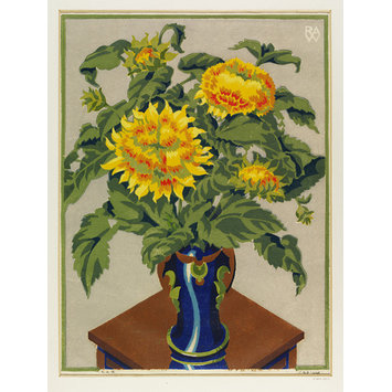 Print - Sunflowers