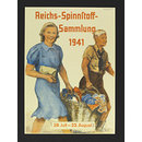 Collection of spinning material for the Reich 1941; Reichs-Spinnstoff-Sammlung 1941 (Poster)