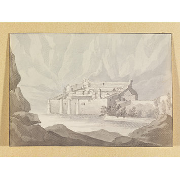 Drawing - St. Catherine's Convent, Sinai