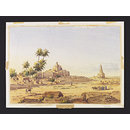 Tomb of Zobeida wife of Haroon ool Rashid in distance; View of Baghdad (Watercolour)