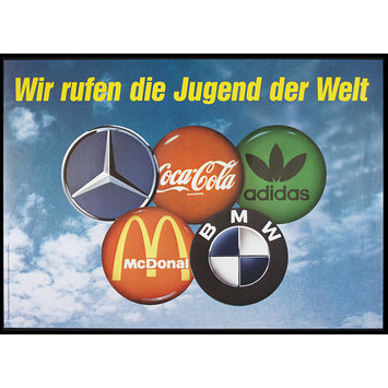 Poster - Wir Rufen die Jugend der Welt; We call upon the youth of the World