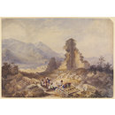 Ephesus (Ruins of the Temple of Diana) (Watercolour)