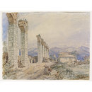 The Aqueduct - Ephesus (Watercolour)