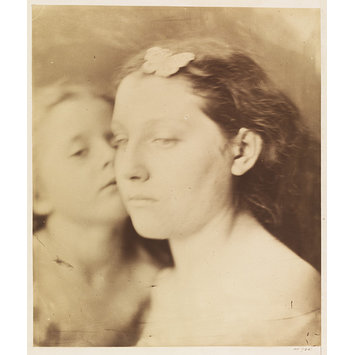 Photograph - Cupid & Psyche; Mother and Child