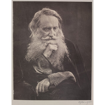 Photograph - Henry Taylor / A Portrait