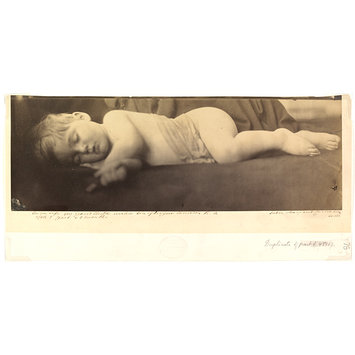 Photograph - My Grand Child Archie son of Eugene Cameron R.A.