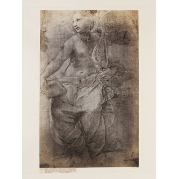 Photograph - Allegorical figure of Poetry