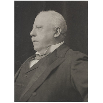Photograph - G.W.E. Russell; Portraits of many persons of note photographed by Frederick Hollyer in three volumes, vol. III