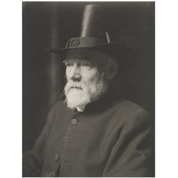Photograph - Right Reverend Lewis Clayton, Bishop of Leicester; Portraits of many persons of note photographed by Frederick Hollyer in three volumes, vol. III