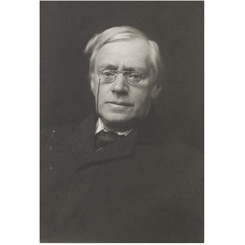 Photograph - Portrait of the Reverend Barry O'Brien; Portraits of many persons of note photographed by Frederick Hollyer