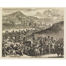 Tocht Der Karavane Uyt Kairo Op Mecha; Procession of the Caravan from Cairo to Mecca (Print)