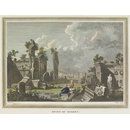 Ruins Of Balbec; Baalbek (Etching)
