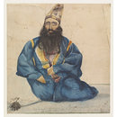 `Abdul Samud - Persian General in Dost Mohd.s. Service  Kabul' (Watercolour)