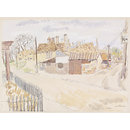 Chipping Hill, Witham; Recording Britain Collection (Watercolour)