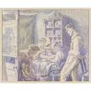 Tattooist's Parlour, Colchester; Recording Britain Collection (Watercolour)
