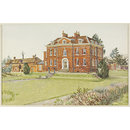 Much Hadham Hall; Recording Britain (Watercolour)