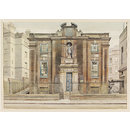 Bluecoat School, Caxton Street, Westminster; Recording Britain (Watercolour)