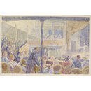 Interior of the Criterion Theatre; Recording Britain (Watercolour)