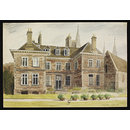 Bishop's Palace, Lichfield (South or Garden Front); Recording Britain (Watercolour)