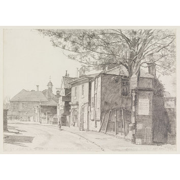 Drawing - St. John's Grove, Richmond; Recording Britain