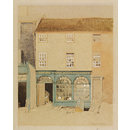 Regency Shop, Market Street, Lewes; Recording Britain (Watercolour)