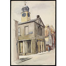 Town Hall, Whitby; Recording Britain (Watercolour)