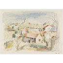 View of Pickering; Recording Britain (Watercolour)