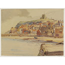 Whitby, Old Town; Recording Britain (Watercolour)