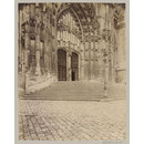 Doorway, Beauvais Cathedral, France (Photograph)