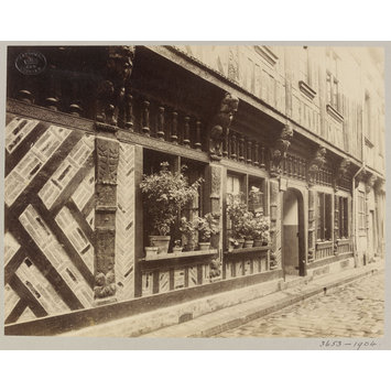 Photograph - House in Rue St Laurent, Beauvais, France