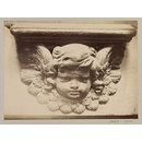 Church of SS Gervais et Protais, Miserere Seat (Cherub's head), XVI Century, Paris, France; Old Paris (Photograph)