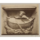 Church of SS Gervais et Protais, Miserere Seat (Man in boat), XVI Century', Paris, France; Old Paris (Photograph)