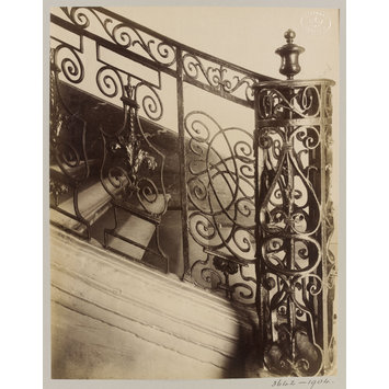 Photograph - Staircase, rue de l'Abbe Gregoire, Paris, France