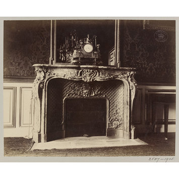 Photograph - Fireplace, Austrian Embassy, 57 Rue de Varenne, Paris, France