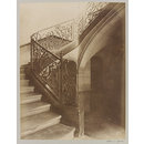Staircase, Hotel Seguier, Paris, France (Photograph)