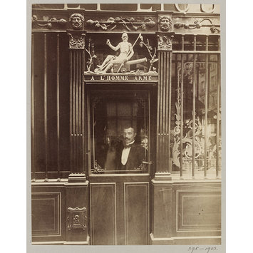 Photograph - A l'Homme Arme, Paris, France