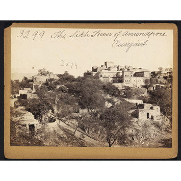 Photograph - The Sikh Town of Anundpore. Punjaub