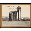 Athens Temple of Jupiter onans (Photograph)