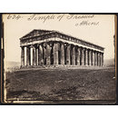 Temple of Theseaus.  Athens (Photograph)