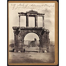 Arch of Adrian &amp; Temple of Jupiter Ionians Athens (Photograph)