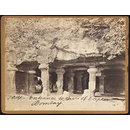 Entrance to Caves of Elephanta.  Bombay (Photograph)