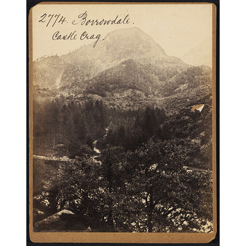 Photograph - Borrowdale.  Castle Crag