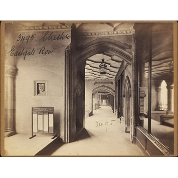 Photograph - Chester.  Eastgate Row
