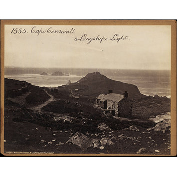 Photograph - Cape Cornwall & Longships Light